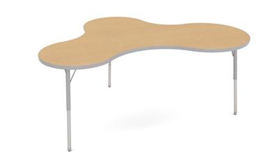 Adjustable Activity Tables 48 Quot X72 Quot Puddle Shape